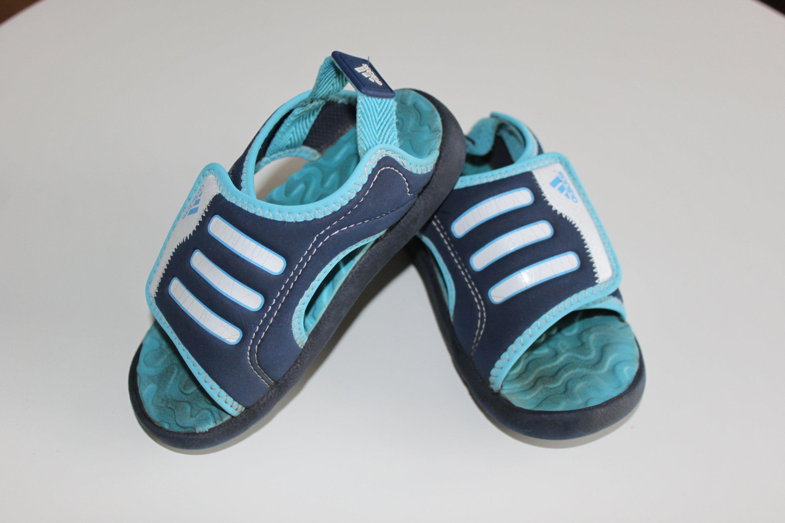 ea88690916bcb5 sandałki 26 adidas piankowe basen sandały - 7177290239 - oficjalne ...