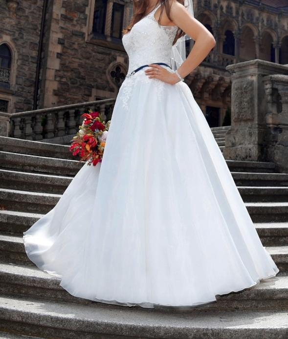 Suknia ślubna Ms Moda Marlene Rozm 36 7636845050 Oficjalne