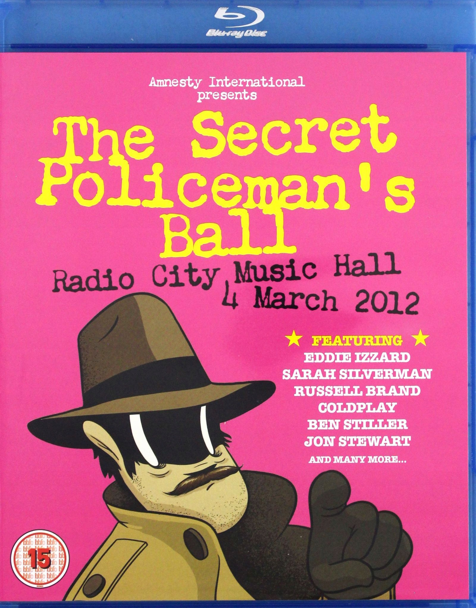 SECRET POLICEMANS BALL - RADIO CITY MUSIC HALL 4 M