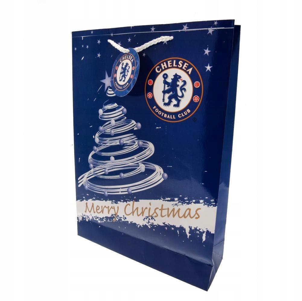 Chelsea Londyn - świąteczna torebka prezentowa!