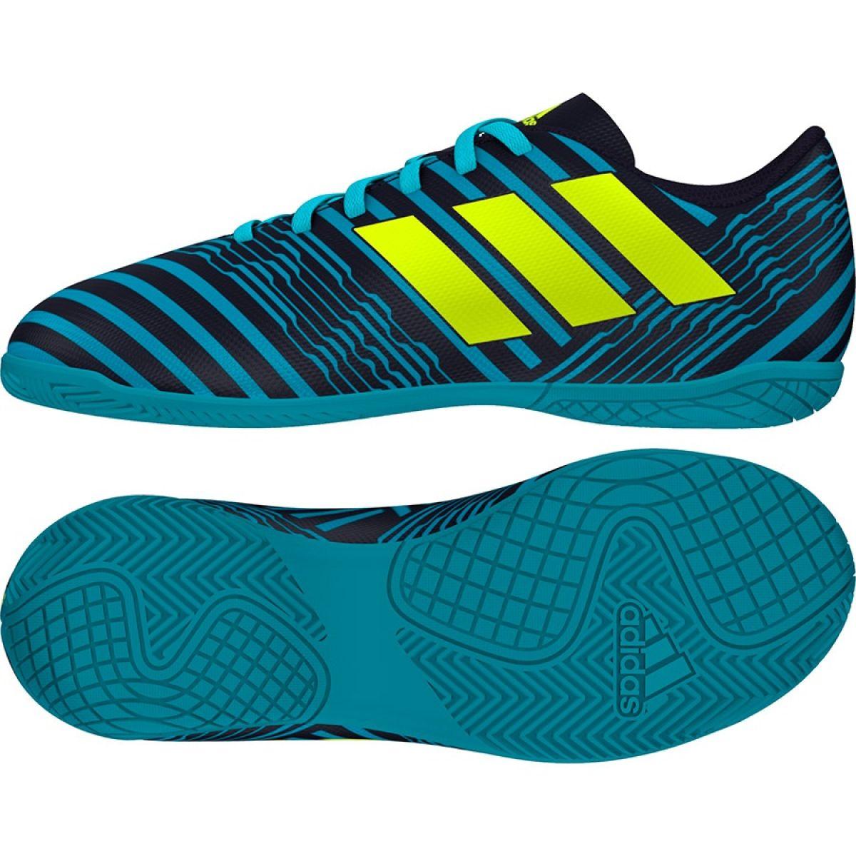 387385d3ffe7a Buty halowe adidas Nemeziz 17.4 Jr S82465 28 - 7199218921 ...