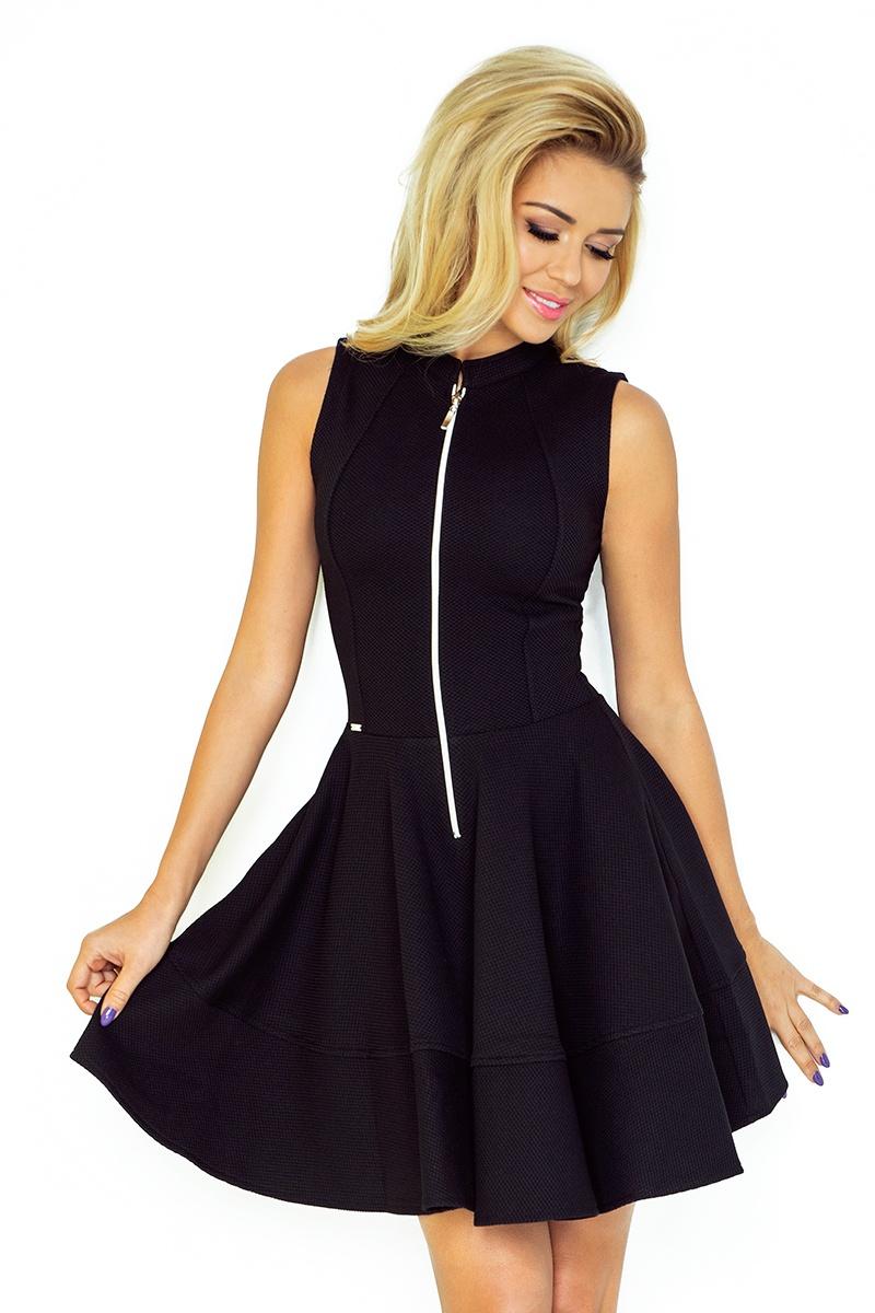 f2ab76c51b Numoco Rozkloszowana sukienka z zamkiem XL - 6861958513 - oficjalne ...