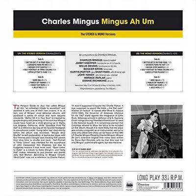 MINGUS AH UM: STEREO & MONO VERSIONS Charles M - 7678395591