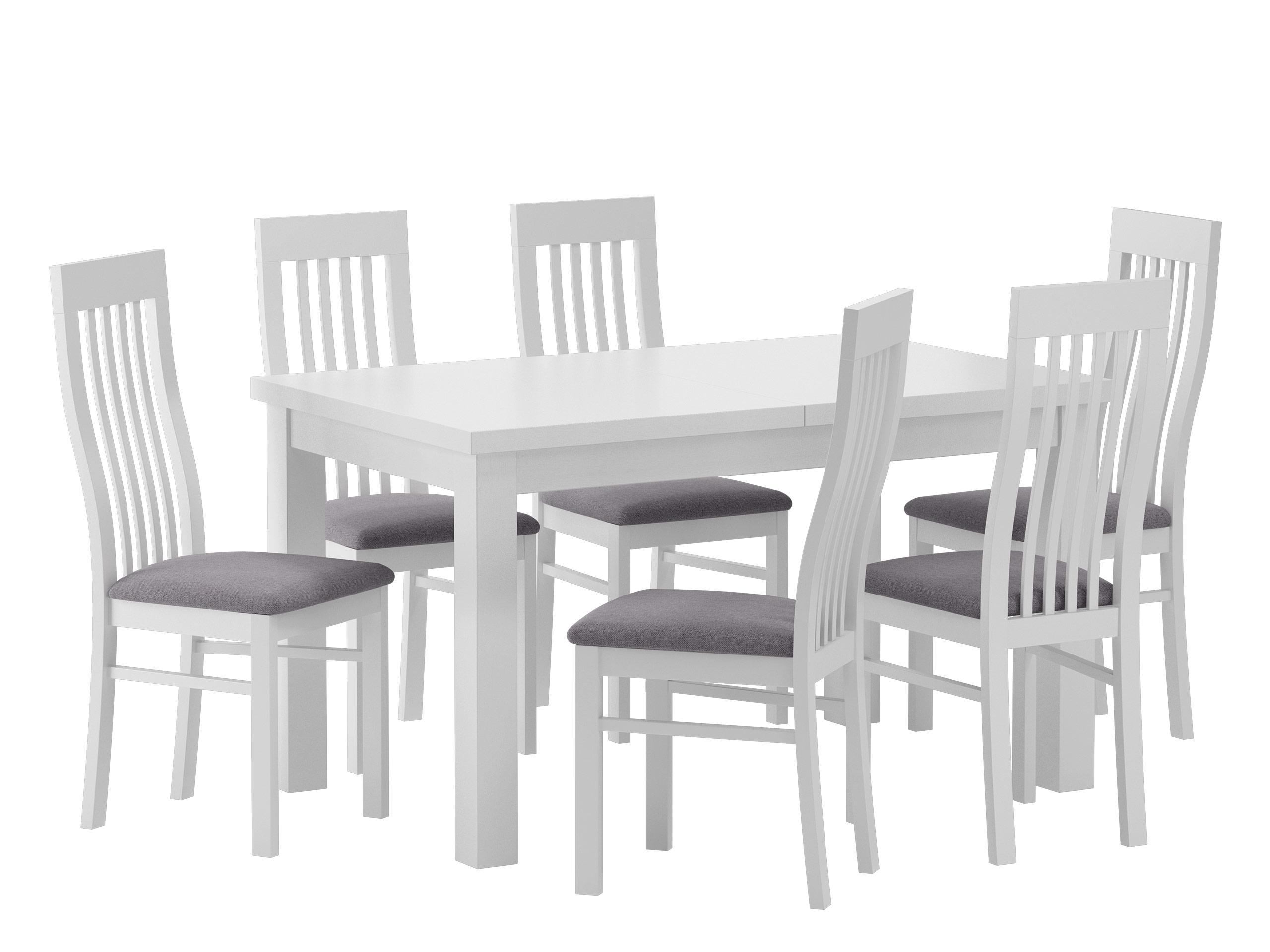 Zestaw Dla 6 Osób Nr1 Drewniany Stół Krzesła 7389283011