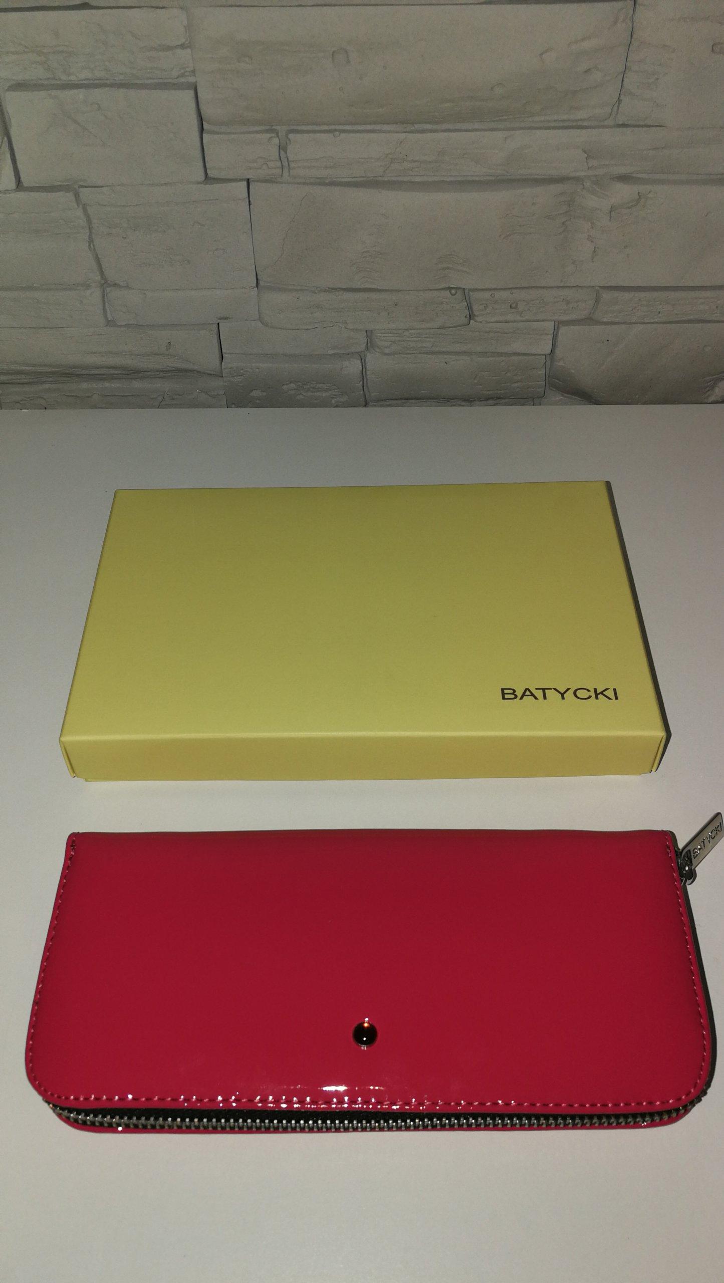 ca0f673ff91e6 Różowy Fuksja portfel Batycki - 7061109060 - oficjalne archiwum allegro