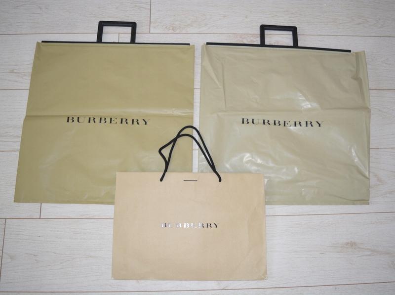 92304f656473a Burberry oryginalna torebka papierowa A4 - 7634675472 - oficjalne ...