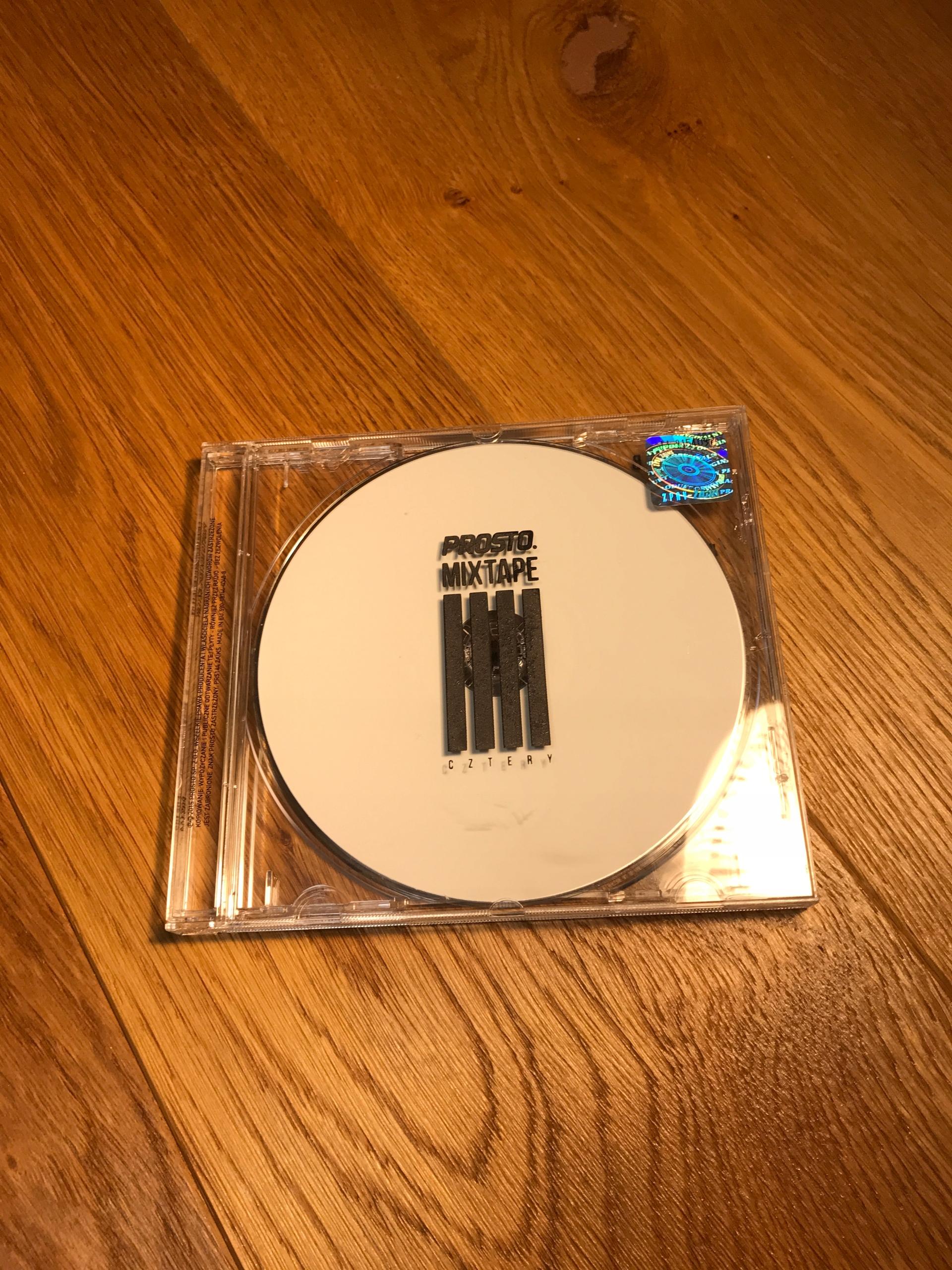 oficjalny sklep pierwsza stawka kup najlepiej Płyta CD PROSTO MIXTAPE CZTERY RAP HIP-HOP SOKÓŁ