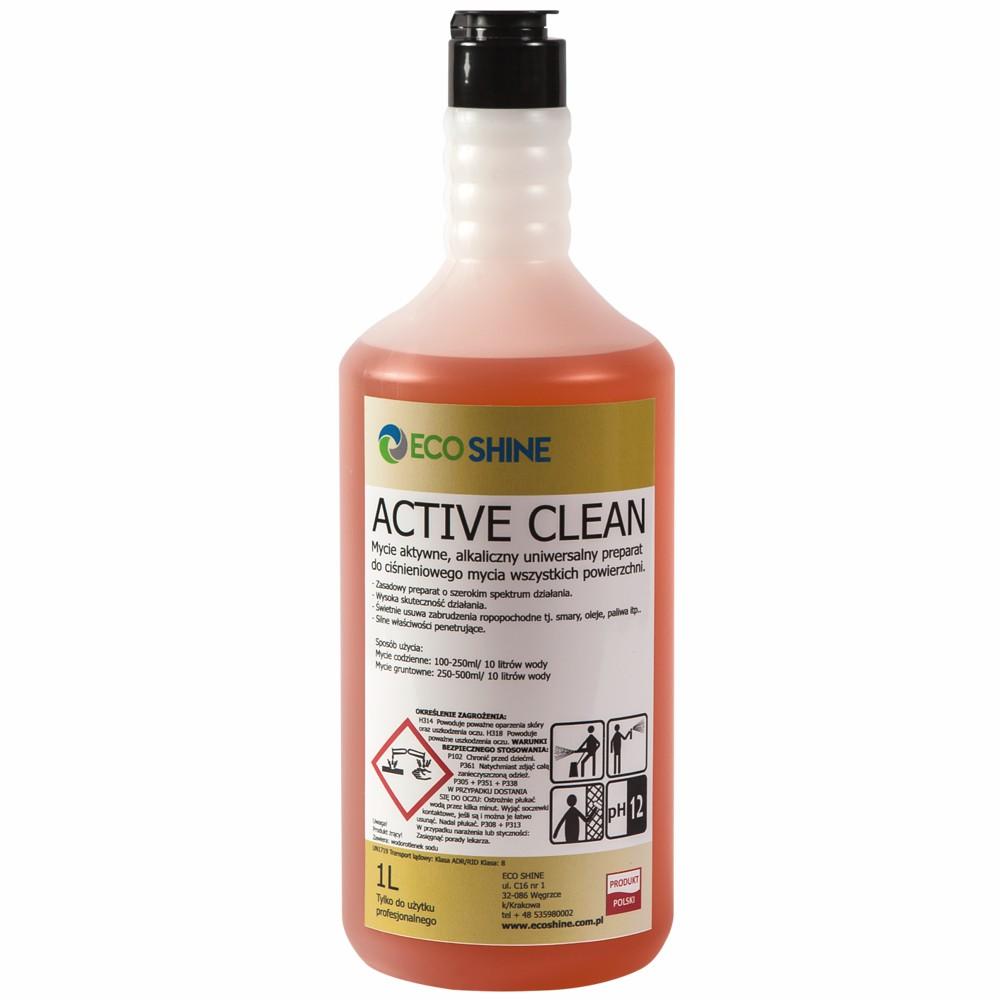 ECO SHINE ACTIVE CLEAN - 1L - Mycie aktywne - P-ń