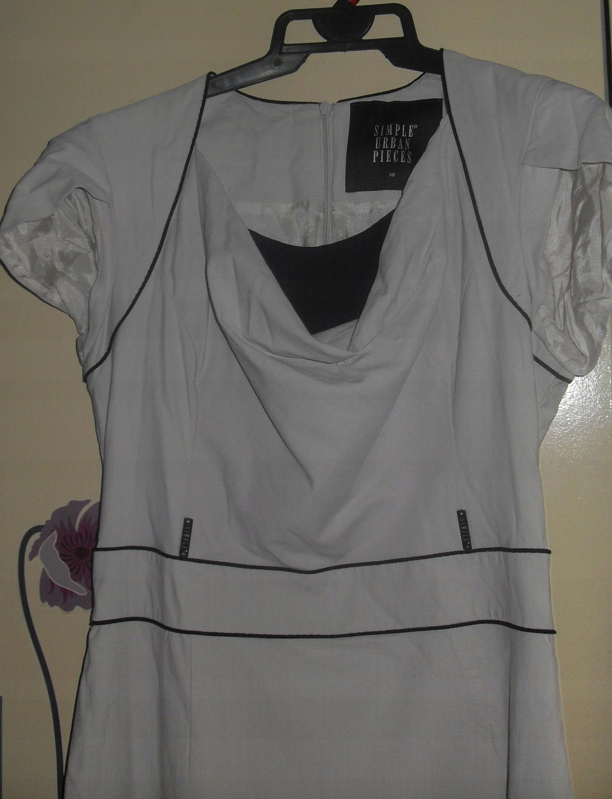 6c31a4c501 simple 38 sukienka - 7534038128 - oficjalne archiwum allegro