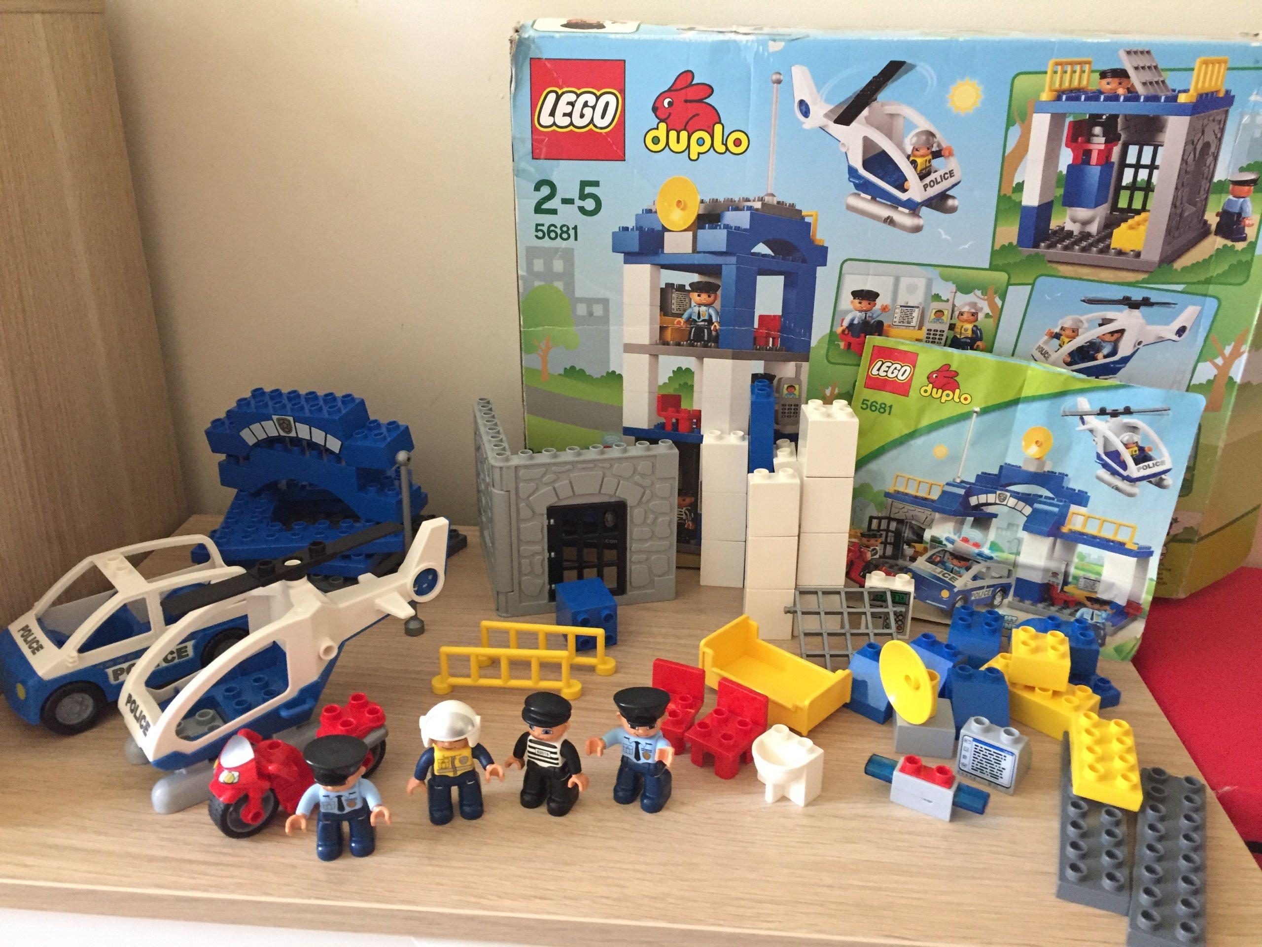 Klocki Lego Duplo Policja Posterunek Policji 5681 7359851938