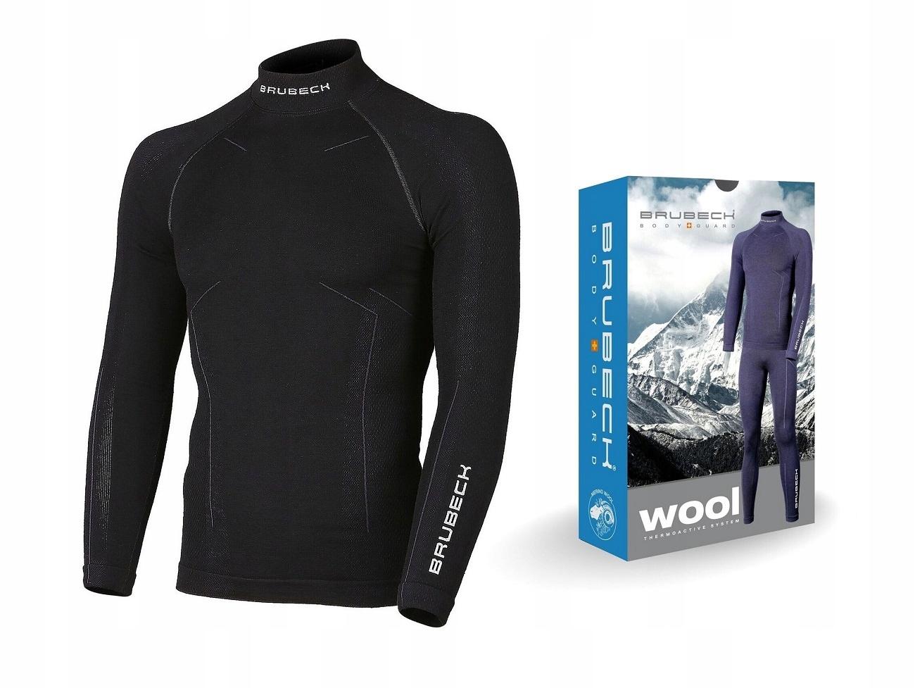 de96c51124cd60 L- Brubeck Merino Wool MEN koszulka termoaktywna - 6971974768 ...