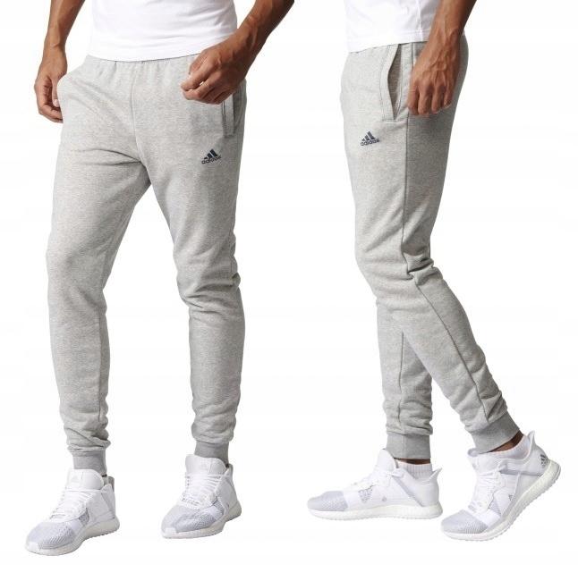 kupować nowe najlepszy dostawca Wielka wyprzedaż ADIDAS Slim Spodnie Dresowe Bawełniane Jogger Tu M ...