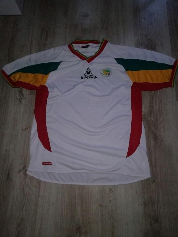 Senegal Home 2002-2003 le coq sportif