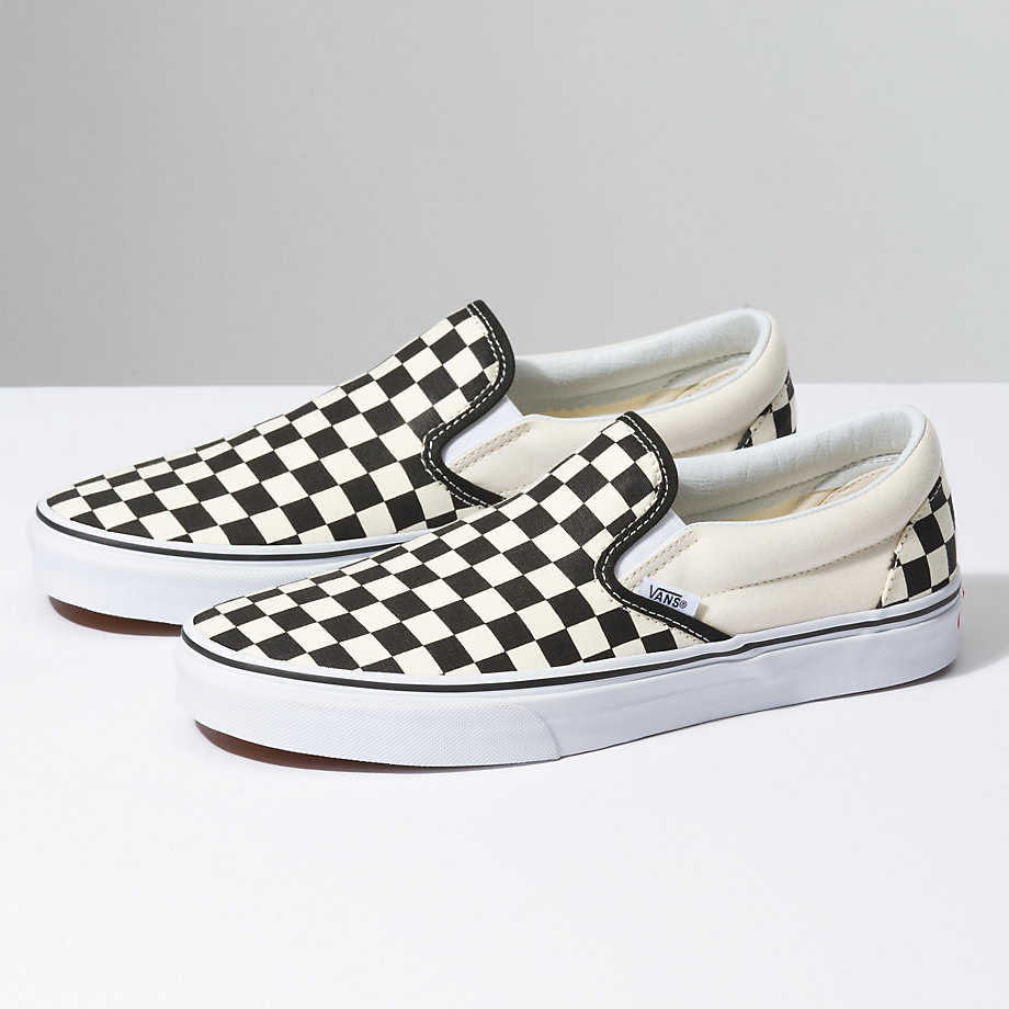 vans checkerboard niskie
