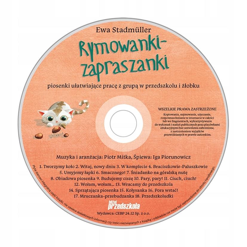Rymowanki Zapraszanki Książka Z Płytą Cd 7465899630