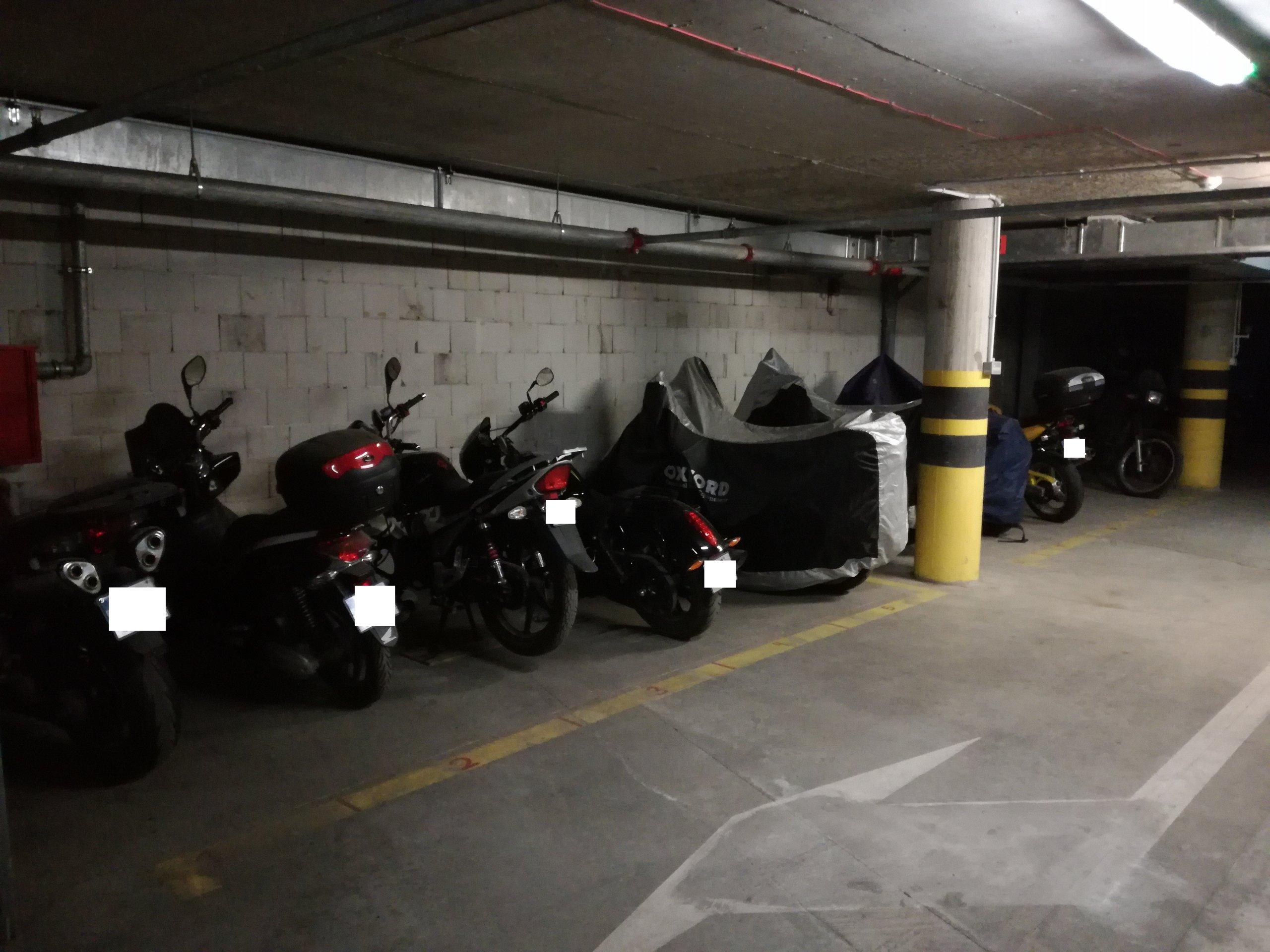 Garaż Miejsce Postojowe Na Motocykl 7258136651 Oficjalne
