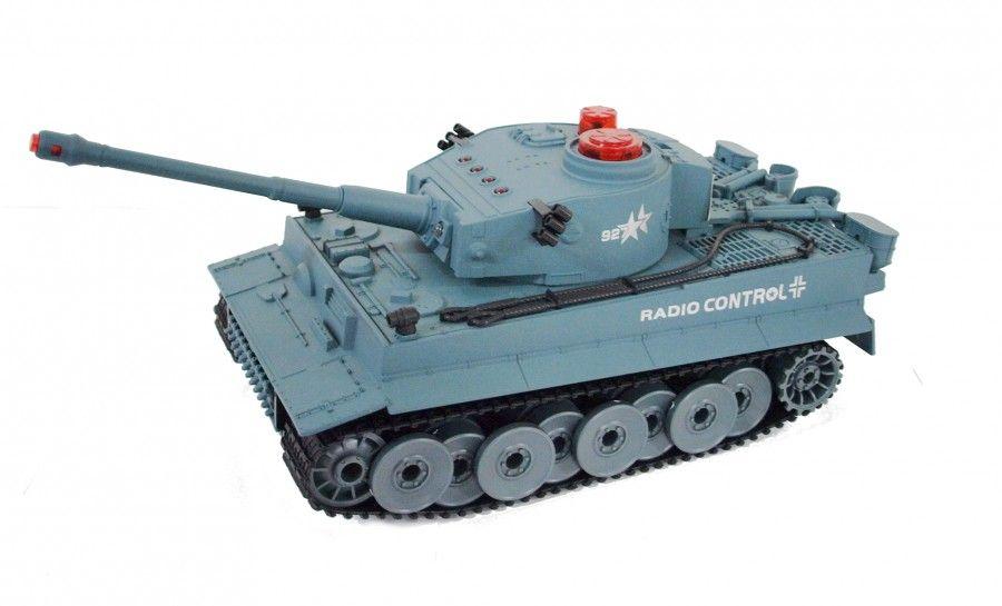Tiger RTR 1:72 Mini czołg 27-49MHz - Niebieski