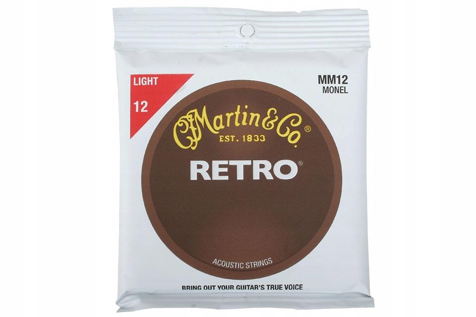 MARTIN MM12 RETRO 12-54 akustické gitarové struny nastaviť