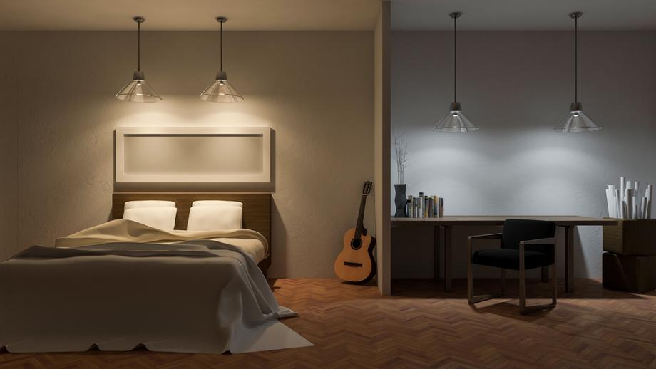 Lampka Nad łóżkiem Nietypowy Element Sypialni Allegropl