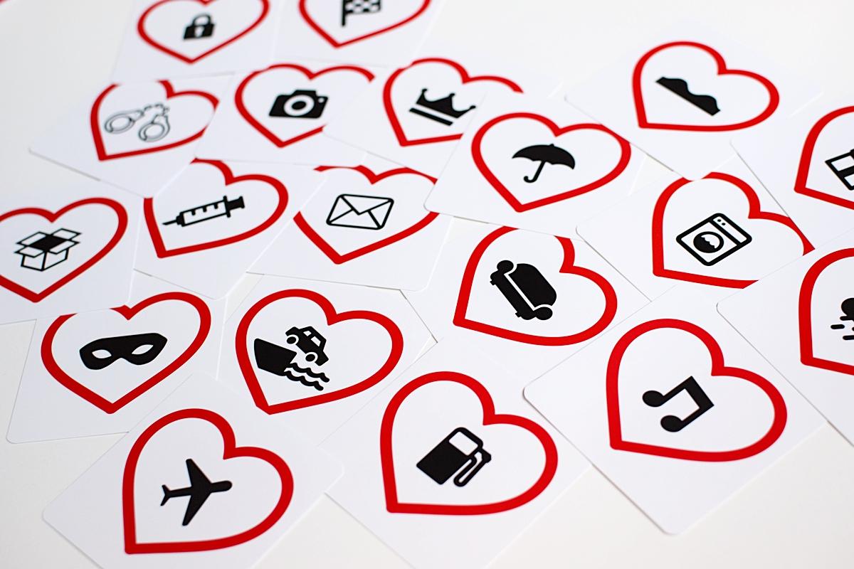 Fotografia 5 Zobraziť niektoré symboly dostupné v hre