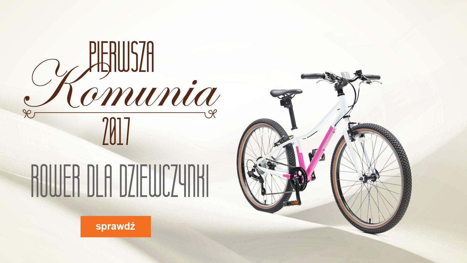 Komunia 2017 Jaki Rower Wybrac Dla Dziewczynki Allegro Pl