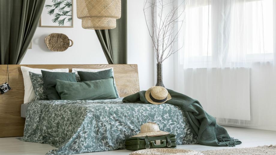 Dodatki Do Sypialni W Zielonym Kolorze 5 Najciekawszych