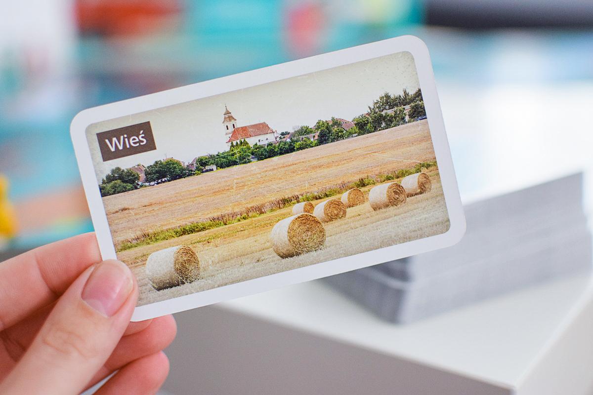 Fotografie 6 kariet s obrázkami