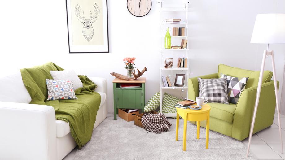Zielone Dodatki I Dekoracje Do Salonu Greenery Kolor Roku
