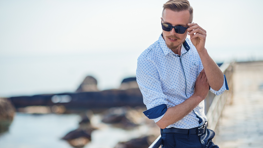 2016 Letnie Nowe Męskie Koszule Moda Markowe Ubrania Męskie