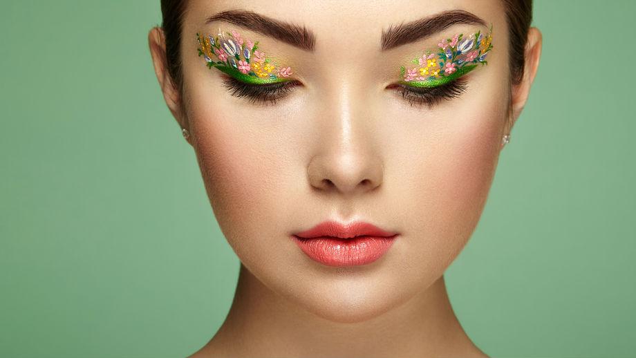 Makijaż Oczu Terrarium Eyes Czyli Dekorowanie Oka Kwiatami Allegropl