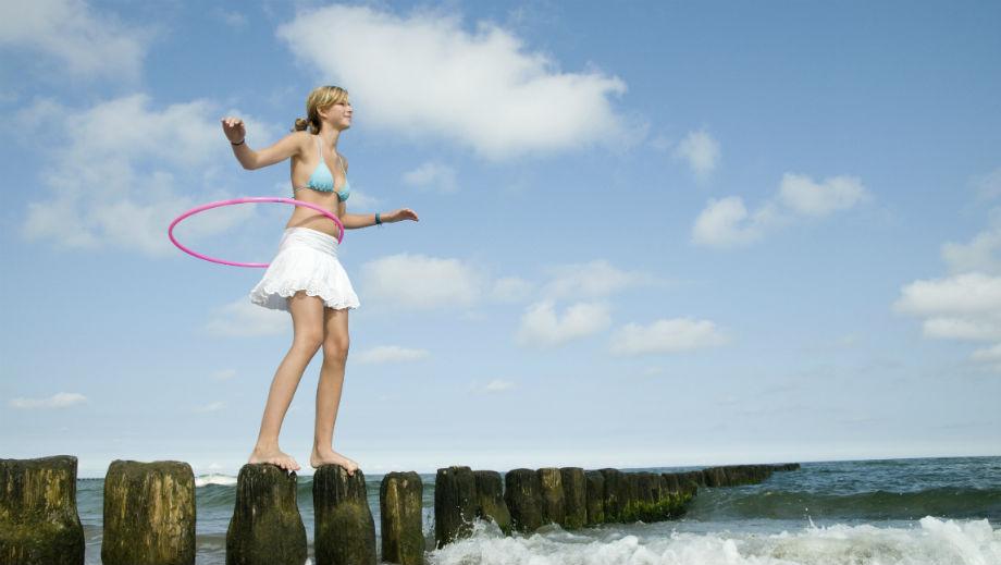 Hula-hoop nie tylko dla dzieci