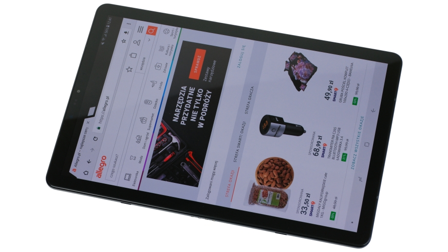 Test Samsunga Galaxy Tab S4 LTE – topowy tablet z wąskimi ramkami