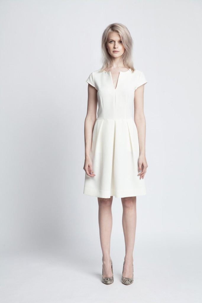 Sukienka ECHO MALWINA 2-16945-116114-020250 ecru XL