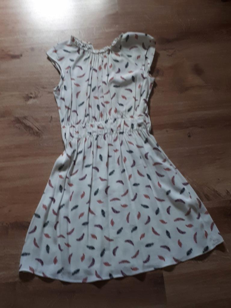 Biała sukienką H&M rozm. 36