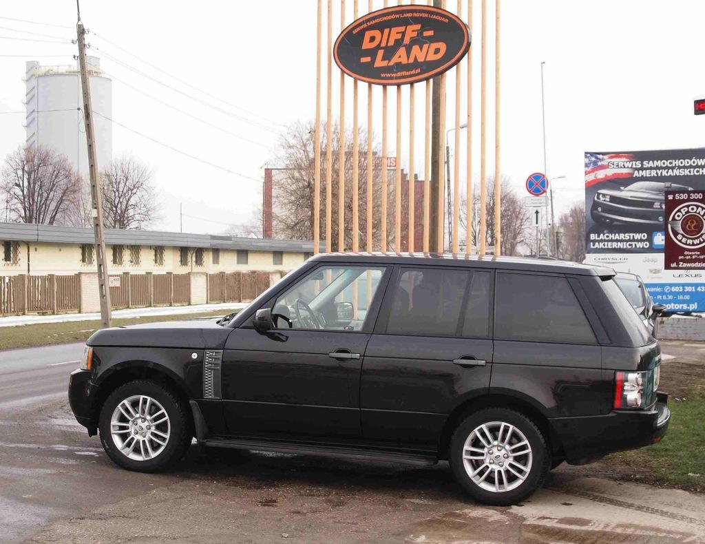 Land Rover Range Rover Vogue 3,6 TDV8, DIFFLAND