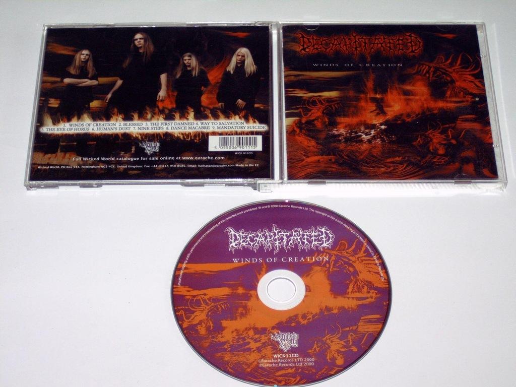 DECAPITATED - WINDS - CD 1WYD. ZACHODNIE! A313