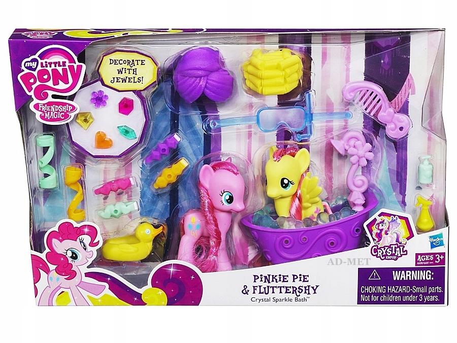 My Little Pony Kapiel Wanna Fluttershy I Pinkie Pi 7518480906 Oficjalne Archiwum Allegro