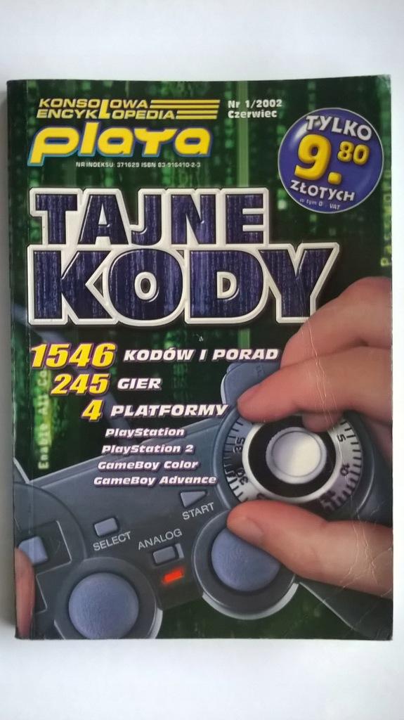 """Konsolowa encyklopedia - """"Tajne kody"""""""