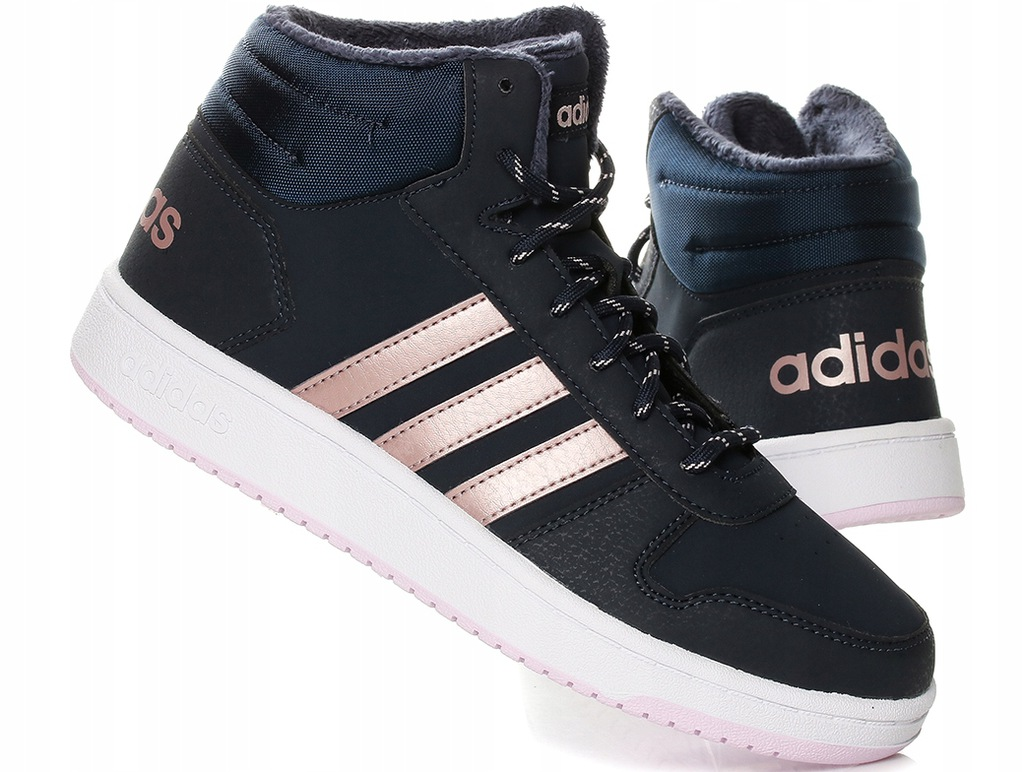 Buty damskie Adidas Hoops 2.0 MID B75741