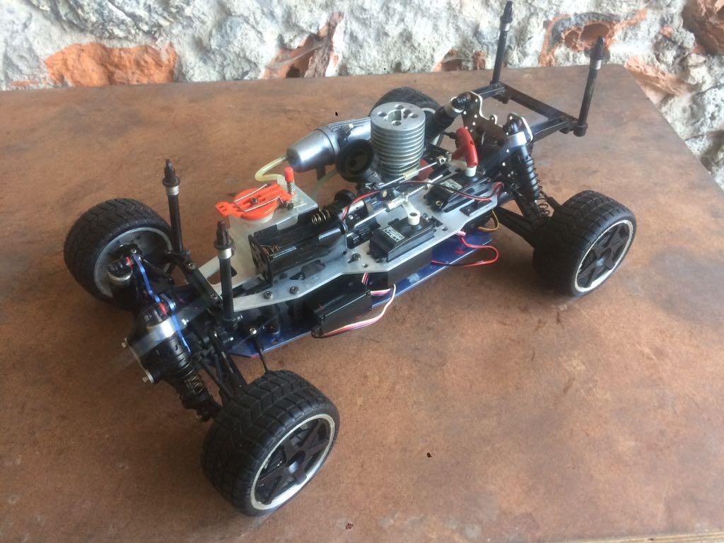 Samochod Rc Kyosho Inferno 10 4x4 Spalinowy 7214625936 Oficjalne Archiwum Allegro