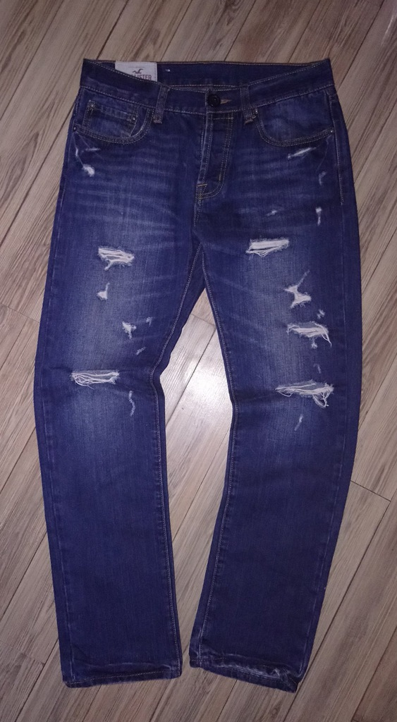 Hollister meskie spodnie jeansy w31l32 super