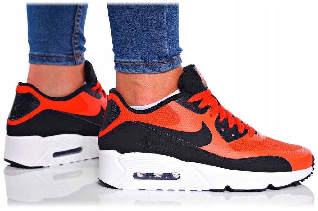 Nike Air Max 90 Ultra 2.0 GS 869950 002 | Czarny, Czerwony