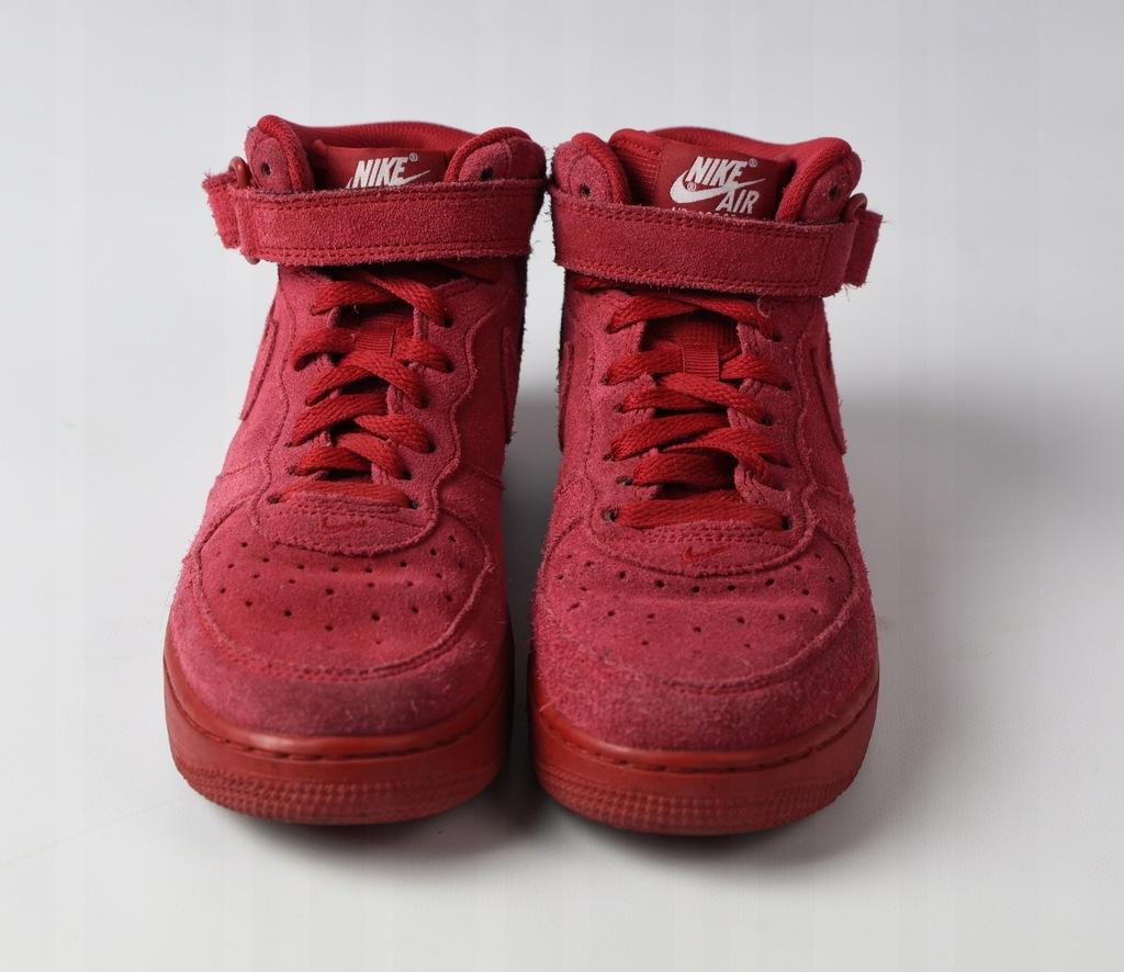 Nike Air Force 37,5 23,5cm zamszowe bdb
