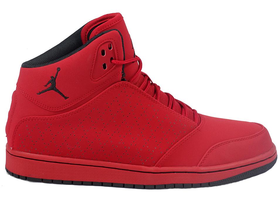 buty nike jordan 1 flight 5 czerwone
