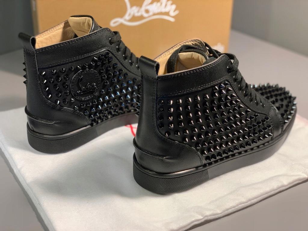 Sneakersy louis spikes CHRISTIAN LOUBOUTIN – Kup Teraz