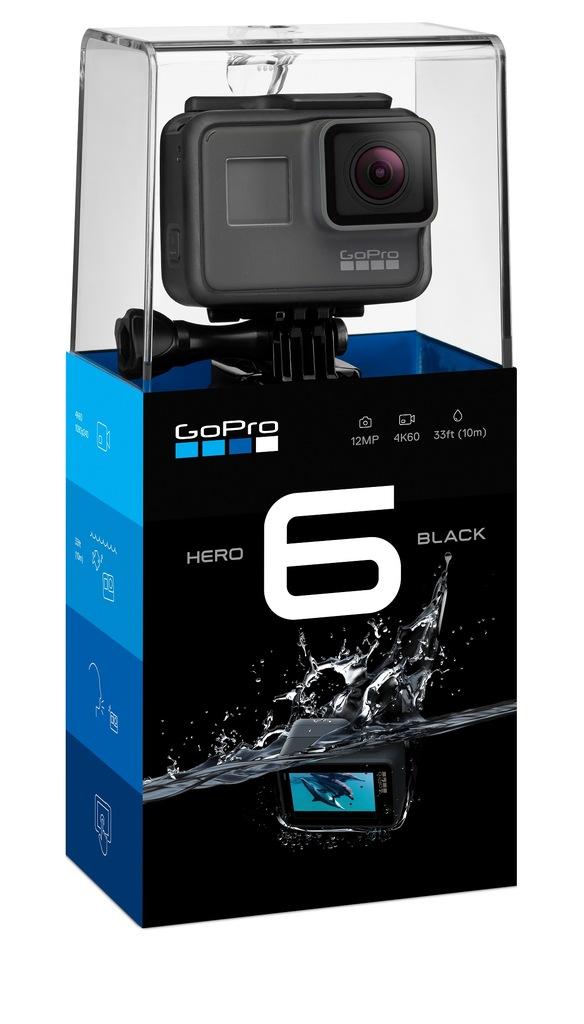 Kamera Sportowa Gopro Hero 6 Black 4k 7092851886 Oficjalne Archiwum Allegro