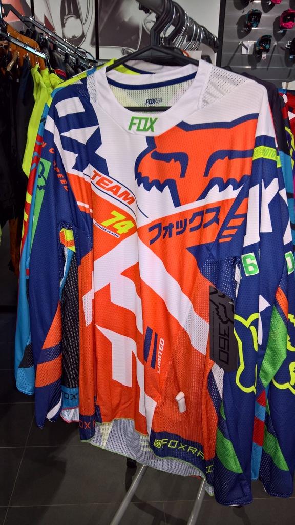 Bluza FOX 360 Divizion Orange/Blue rozm. M