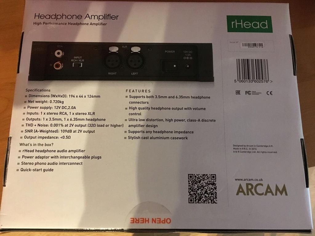 Receivers & Separates Hi-Fi & Home Audio gaixample.org Arcam rHEAD ...