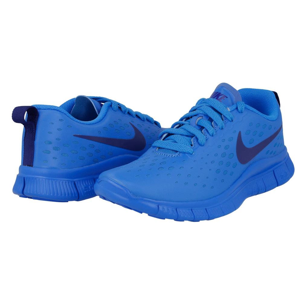 Nike Free Rn (Gs) Damskie Buty Niebieskie Sklep