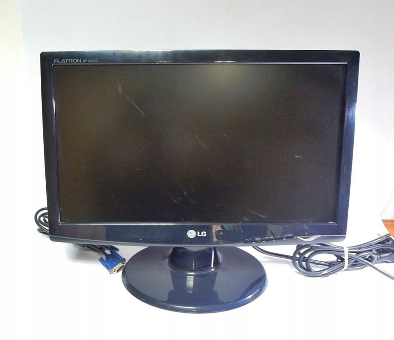 Monitor 19 Lg Flatron W1943 Ss 7720465618 Oficjalne Archiwum Allegro